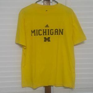 Adidas Michigan T-shirt Sz M